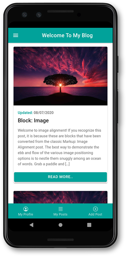 1 Complete WordPress Blogging Android iOS Apps Using Ionic 5 Angular
